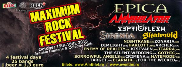 Maximum Rock Festival 18oct