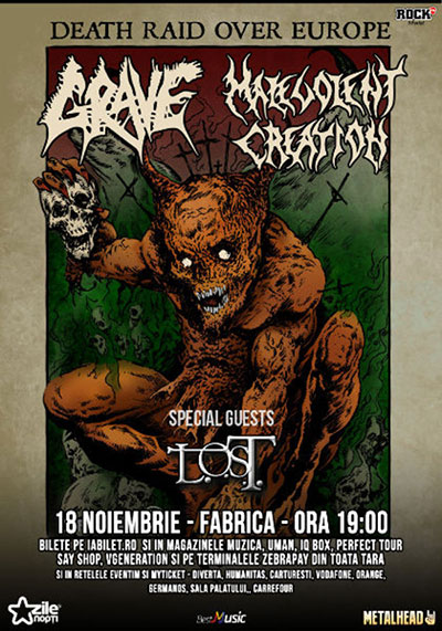 GRAVE MALEVOLENT CREATION 18nov