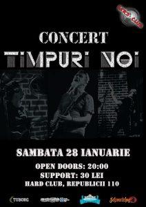Cronică de concert: Timpuri Noi în Hard Club Cluj-Napoca