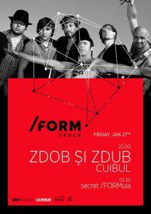 Cronică de concert: ZDOB ŞI ZDUB şi CUIBUL la Cluj-Napoca
