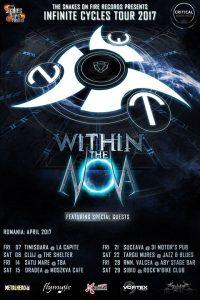 """Within the Nova anunţă prima parte a turneului """"Infinite Cycles 2017"""""""