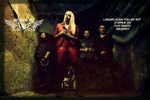 """Scarlet Aura lansează albumul """"Falling Sky"""" pe 27 aprilie"""