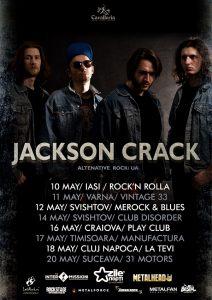 Turneu Jackson Crack în România şi Bulgaria