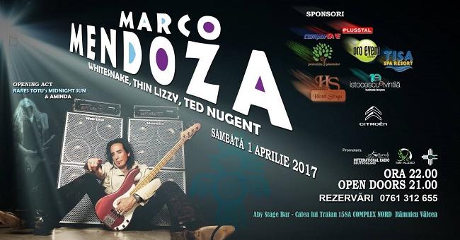 Marco Mendoza în ABY STAGE BAR, la Râmnicu Vâlcea