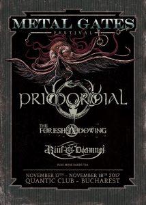 Primordial – primul headliner anunțat la Metal Gates Festival