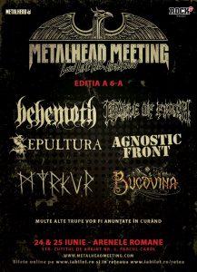 CRADLE OF FILTH cântă la Metalhead Meeting Festival 2017