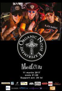 Organic Noise Experiment (Canada) live în Timişoara