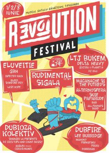 REVOLUTION Festival se transformă într-un eveniment non-stop de trei zile, cu un line-up hot!