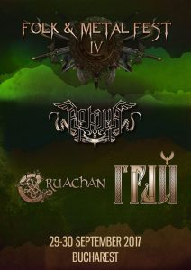 Noi trupe la Folk & Metal Fest IV