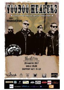 Concert punk cu Voodoo Healers şi Monokrom la Timişoara