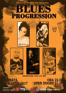 Blues Progression în ABY STAGE BAR
