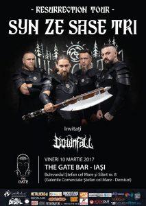 Weekend black metal cu Syn Ze Şase Tri şi Downfall la Iaşi, Suceava şi Târgu Mureş