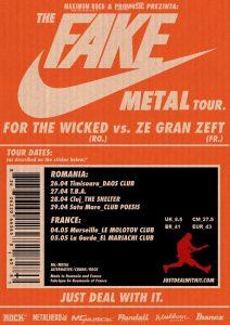 For The Wicked pornește în turneu alături de Ze Gran Zeft în Franța și România