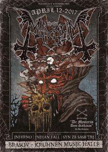 Syn Ze Șase Tri deschide concertul Mayhem de diseară