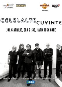 Concert Celelalte Cuvinte alături de Radu Manafu la Hard Rock Cafe
