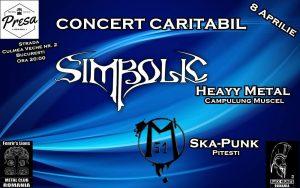 Concert caritabil Simbolic şi Magazinu' 51 în Presa Pub, sâmbătă, 8 aprilie