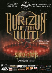 Concert de doom finlandez cu Horizon of the Mute