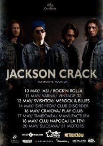 Jackson Crack lansează albumul de debut la sfârşitul lui aprilie
