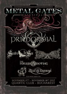 SWALLOW THE SUN – cel de-al treilea headliner la Metal Gates Festival