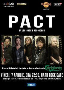 ConcertPACT by Leo Iorga & Adi Ordean la Hard Rock Cafe