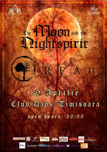 Irfan şi The Moon And The Nightspirit în concert la Timişoara
