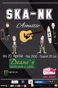 Turneul naţional Ska-Nkoustic Tour începe la Braşov şi Sibiu