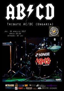 Tribute AC/DC cu maghiarii de la AB/CD în Braşov şi Timişoara