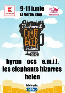 Peste 70 de tipuri de bere și cidru la Bucharest Craft Beer Festival