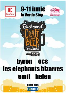 Rock, punk, indie, electro și jazz la Bucharest Craft Beer Festival
