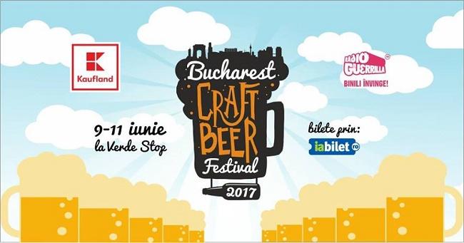 Cea de-a doua ediție a Bucharest Craft Beer Festival deschide sezonul de bere altfel, la Verde Stop