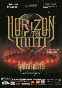Concertul Horizon of the Mute se mută în Club Hybrid