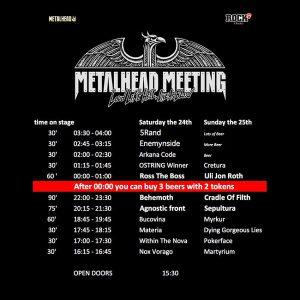 Metalhead Meeting 2017: afişul final, programul şi bilete de o zi