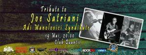 Concert tribut Satriani în Quantic