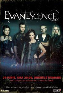 Evanescence la Bucureşti: Ultimele două săptămâni de bilete la ofertă!