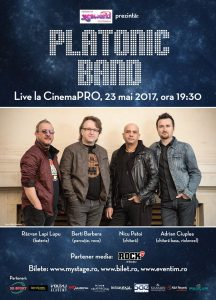 "Platonic Band – avanpremiera albumului ""Geometry of Creation"", azi la CinemaPro"