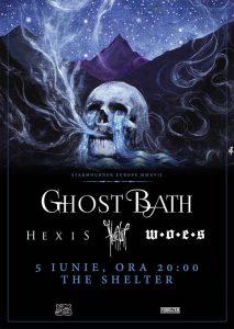 Ghost Bath, Heretoir, Hexis şi Woes vor concerta astăzi în The Shelter Cluj-Napoca