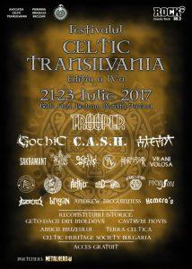 Cine cântă la Festivalul Celtic Transilvania?