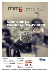 MASTERING THE MUSIC BUSINESS – 3 ZILE DE PREZENTĂRI, WORKSHOP-URI ŞI CONCERTE LIVE