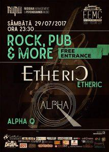 Etheric și Alpha Q, live în Sibiu