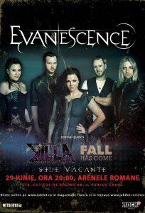 Amy Lee (Evanescence): Mesaj video pentru fanii din România!