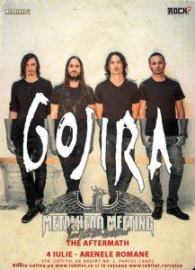 The Blackmordia și Xaon concertează alături de GOJIRA la Arenele Romane pe 4 iulie