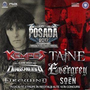 KEMPES şi TAINE la Posada Rock 2017