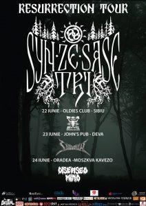 Syn Ze Şase Tri în concert la Sibiu, Deva şi Oradea