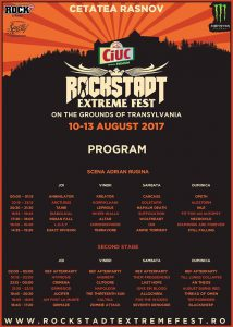 Line-up final și running order pentru Rockstadt Extreme Fest 2017