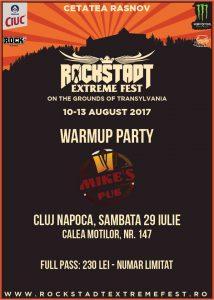 Ultimele 2 warm-up party-uri pentru Rockstadt Extreme Fest au loc la Brașov și Cluj-Napoca