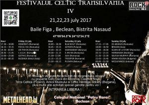 Au mai rămas câteva zile până la Festivalul Celtic Transilvania