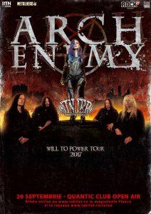 Arch Enemy şi Jinjer la Bucureşti: Golden Circle este Sold Out!