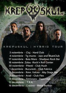 Krepuskul a semnat cu o casă de discuri din Anglia și se pregătește de Hybrid Tour!