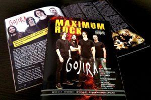 Revista Maximum Rock revine în format print