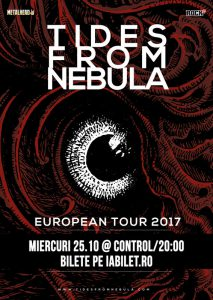 Concert Tides From Nebula la Bucureşti